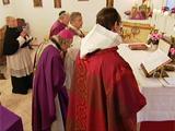 Die vollständige Besetzung des kleinsten Klosters